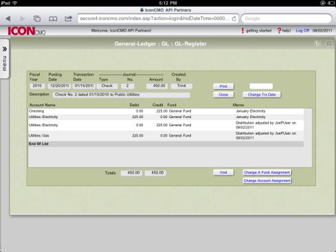 Reclassify expense accounts